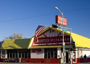 Albuquerque mexican restaurant Frontier restaurant