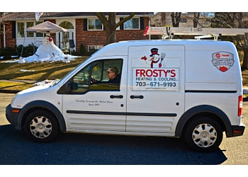 Alexandria hvac service  Frosty's Heating & Cooling, Inc.