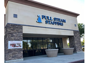 Fresno staffing agency Full Steam Staffing