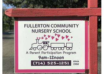 Fullerton preschool Fullerton Community Nursery School