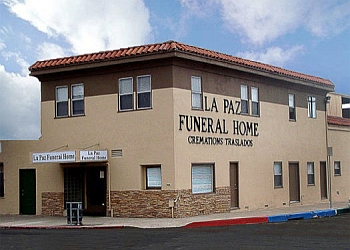 San Diego funeral home Funeraria La Paz