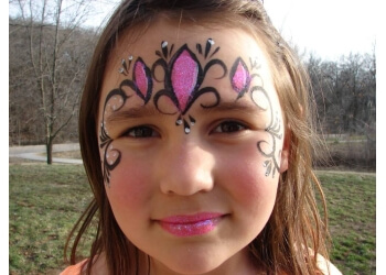 Cedar Rapids face painting Funny Face Designs
