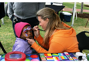 Norfolk face painting Funny Faces by Julie