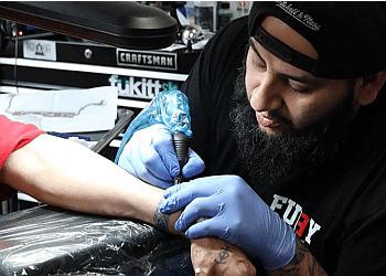 Alexandria tattoo shop Fury 13