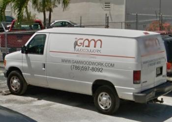 Miami custom cabinet GAM Woodwork Inc.