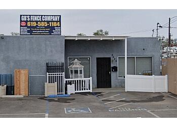 Chula Vista fencing contractor GB'S Fence Company