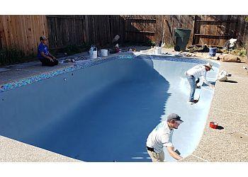 Stockton pool service GD's Tile & Pool Plastering