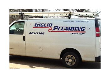 Shreveport plumber GIGLIO PLUMBING Co Inc.