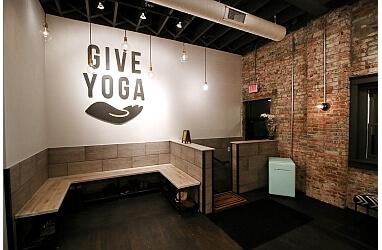 Columbus yoga studio GIVE Yoga