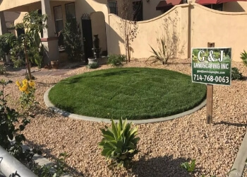Corona landscaping company G & J Landscaping, Inc.