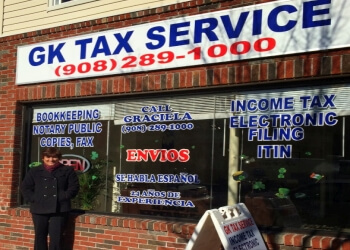 Elizabeth tax service GK Tax Service