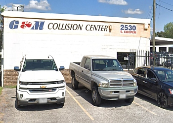 Arlington auto body shop G & M Collision Center