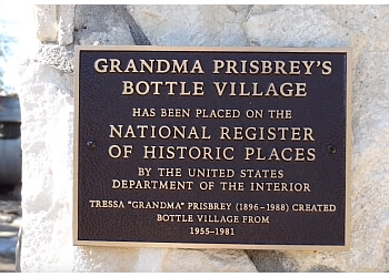 Simi Valley landmark GRANDMA PRISBREY'S BOTTLE VILLAGE
