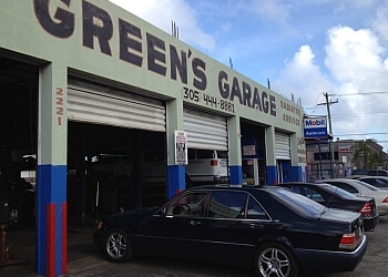 Miami car repair shop GREEN'S GARAGE