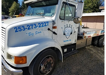 Tacoma towing company G&W Towing And Recovery LLC