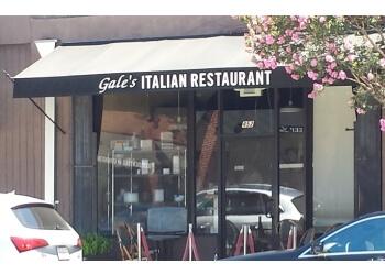 Pasadena italian restaurant Gale's italian restaurant