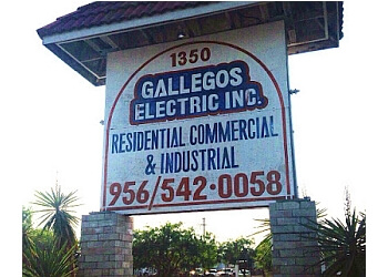 Brownsville electrician Gallegos Electric, Inc.