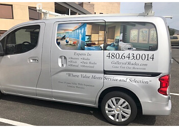 Scottsdale window treatment store Gallery of Shades LLC
