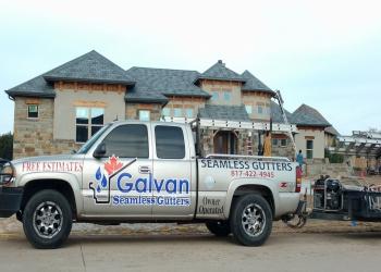 Fort Worth gutter cleaner Galvan Seamless Gutters