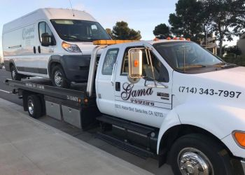 Santa Ana towing company GAMA TOWING