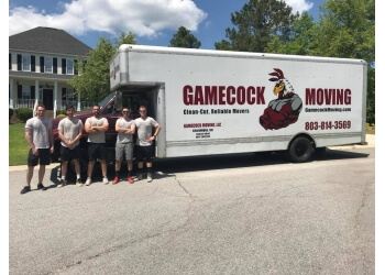 Columbia moving company Gamecock Moving LLC
