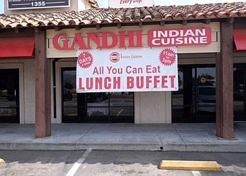 Riverside indian restaurant Gandhi Indian Cuisine & Banquet