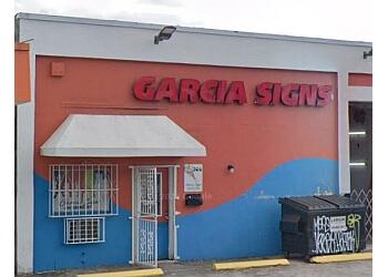 Hialeah sign company Garcia Signs & graphics