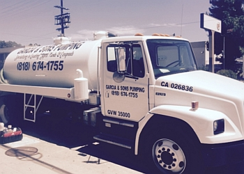 Glendale septic tank service Garcia & Sons Pumping
