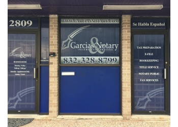Pasadena tax service Garcia's Notary & Income Tax