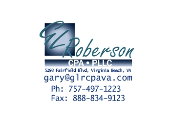 Virginia Beach accounting firm Gary L Roberson, CPA, PLLC