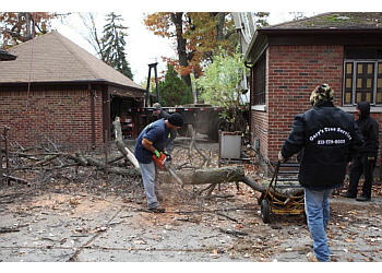 Detroit tree service Gary's Tree and Crane Service