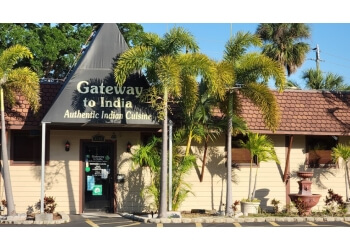 St Petersburg indian restaurant Gateway To India