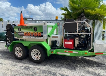 Cape Coral plumber Gator Drain and Plumbing