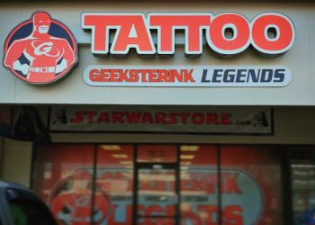 Vancouver tattoo shop GeeksterInk Legends Tattoo Shop