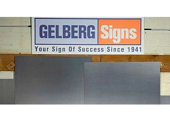 Washington sign company Gelberg Signs