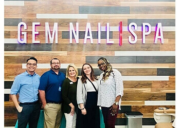 Fort Worth nail salon Gem Nail Spa