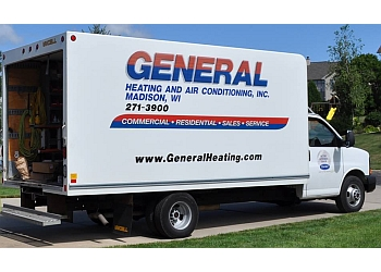 Madison hvac service General Heating and Air Conditioning, Inc.