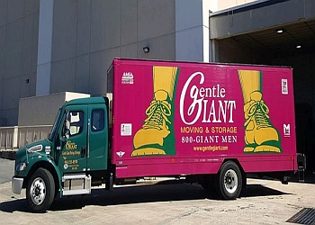 Charlotte moving company Gentle Giant Moving company