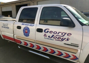 Torrance towing company George & Joey's Towing