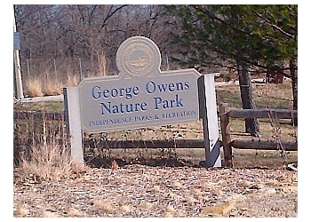 Independence hiking trail George Owens Nature Park
