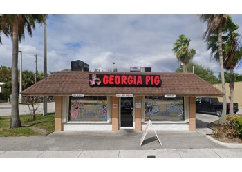 Fort Lauderdale barbecue restaurant Georgia Pig Barbeque
