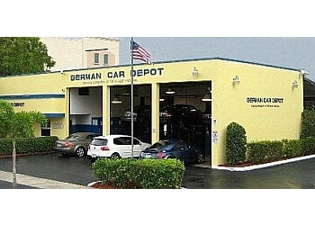 Hollywood car repair shop German Car Depot