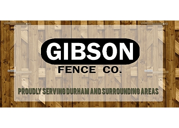 Durham fencing contractor Gibson Fence Co.