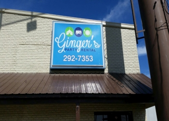 Baton Rouge event rental company Ginger's Party Rental