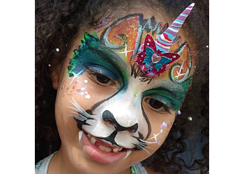 Portland face painting Glitter Ruby's Henna and Face Paint