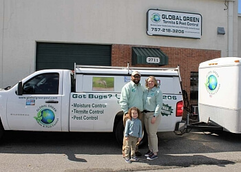 Hampton pest control company Global Green Pest & Termite Control