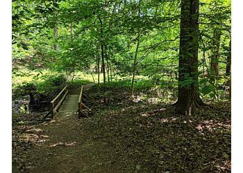 Washington hiking trail Glover-Archbold Park Trail