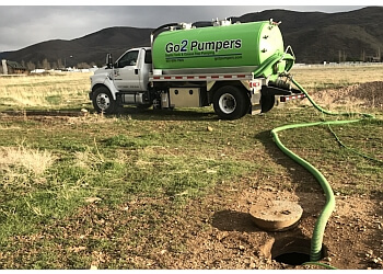 West Valley City septic tank service Go2 Pumpers
