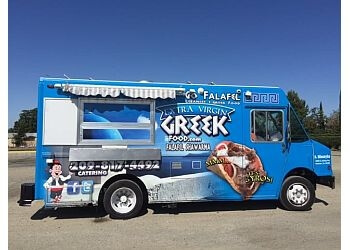 Stockton food truck Go Falafel Greek Food