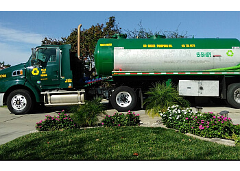 Riverside septic tank service Go-Green Septic Pumping Co.